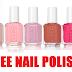 Free Bottle of Essie  Nail Polish
