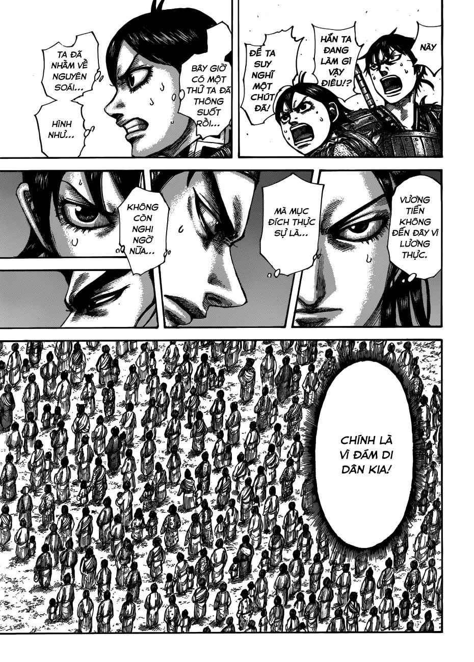 Kingdom chapter 514: kế hoạch thảm hại trang 17