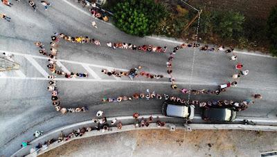 ΗΧΗΡΟ ΟΧΙ των κατοίκων της Λέσβου στην λαθρομετανάστευση και στις ΜΚΟ...