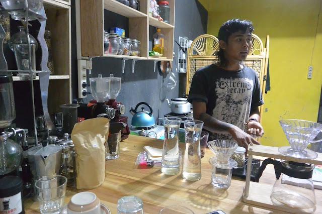 Kelas Kopi Papua Bomomani di Loepa Kopi