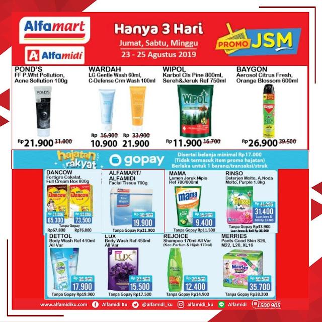 #Alfamidi - #Promo Katalog JSM Periode 23 - 25 Agustus 2019