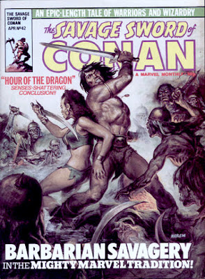 Savage Sword of Conan #42, UK