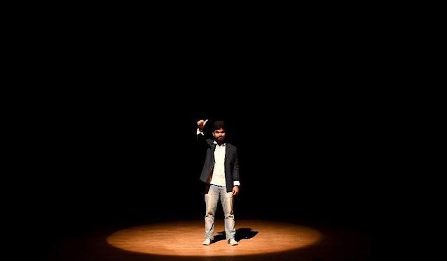 theatre artist Dipanwit Dashmohapatra