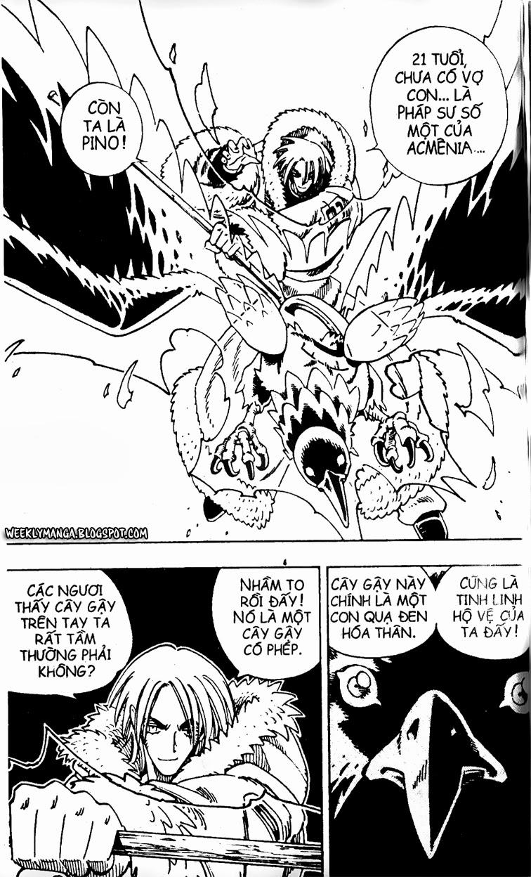 Shaman King [Vua pháp thuật] chap 127 trang 12