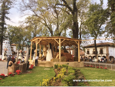 Monumental Nativity in Patzcuaro