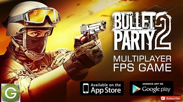 تحميل لعبة bullet party مهكرة للأندرويد من ميديا فاير