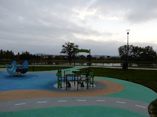 セッラヴァッレ公園内の遊具