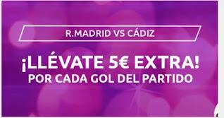 Mondobets promo Real Madrid vs Cadiz 17-10-2020