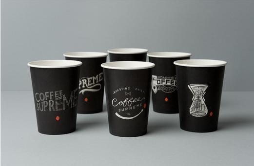 in ly giấy đựng cà phê đẹp
