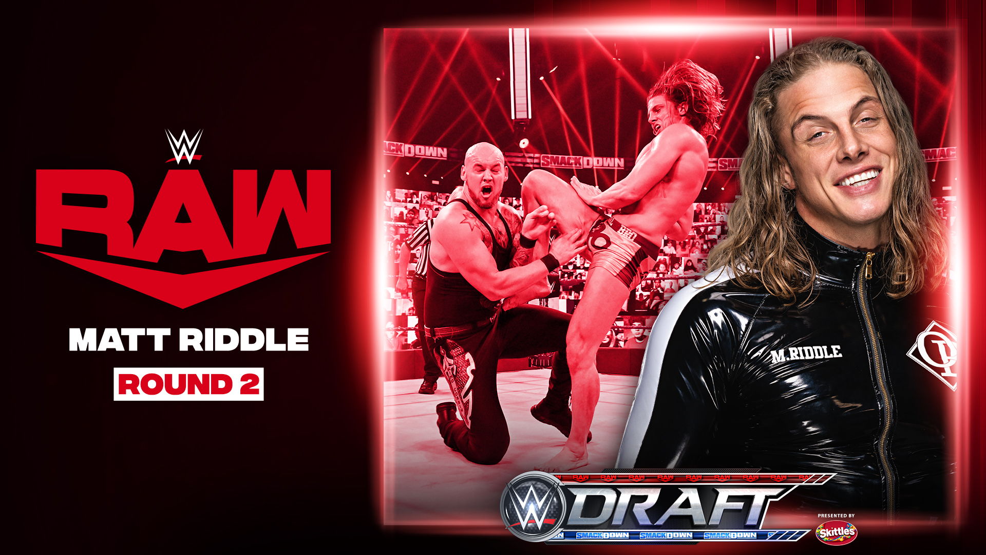 Matt Riddle drafted to WWE RAW