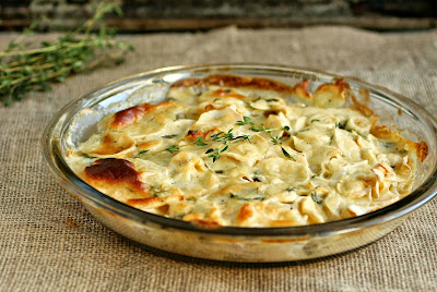 Parsnip and Thyme Gratin