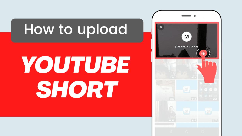 Upload short video on YouTube