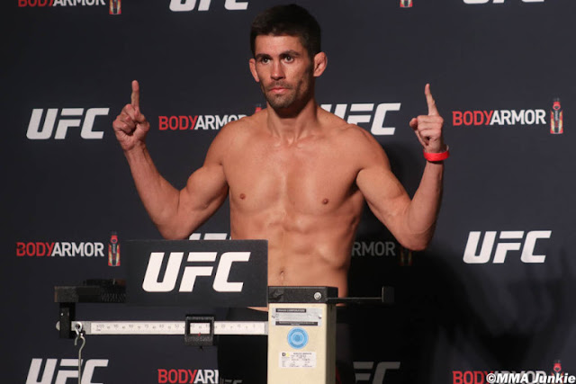 Dominick Cruz UFC 249 Weigh In