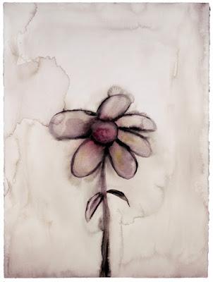 Grey Daisy, pintura de Marilyn Manson.