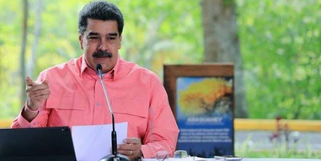 MADURO CELEBRA COMO UN LOGRO EL INICIO DEL DIÁLOGO CON GUAIDÓ