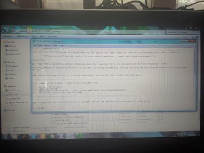 Cara mengatasi Grandcrab Ransomware V.5.1