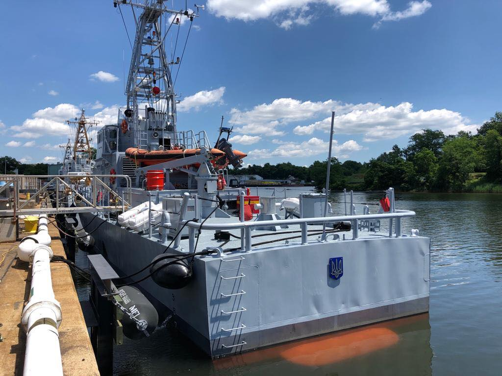 Катер ВМСУ Слов'янськ типу Island вийшов у море