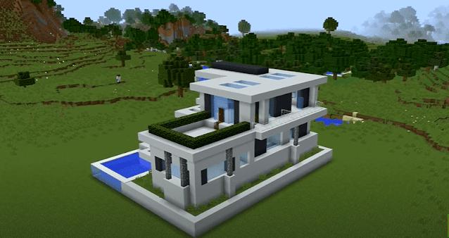 Minecraft modern house ideas and designs