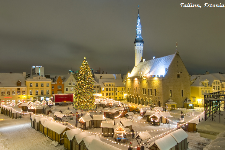 Tallin - An Amazing City on Baltic Sea