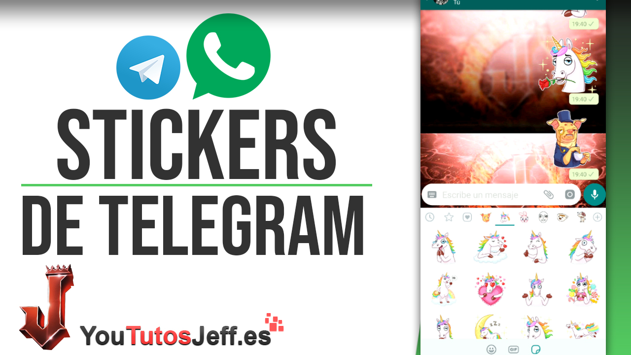 Descargar Stickers de Telegram para Whatsapp - Trucos Whatsapp