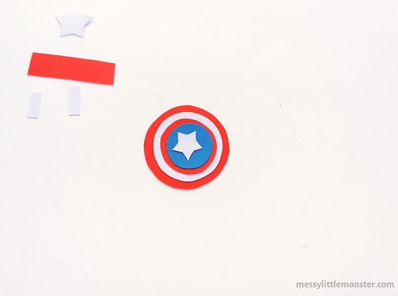 Avengers shield superhero craft