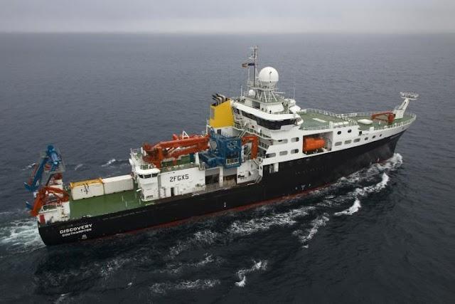 Buques Oceanográficos