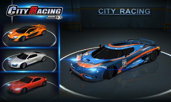 تحميل لعبة city racing 3d مهكرة