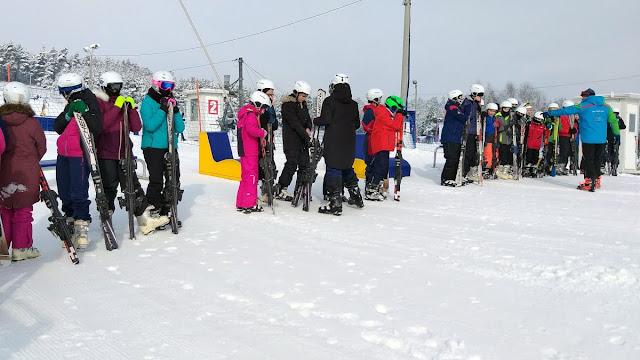 Wyjazd na narty klas sportowych