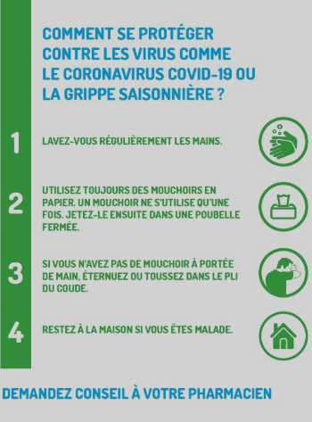 4 conseils pour se protéger contre le virus corona