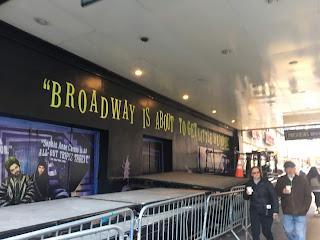 Beetlejuice Stage Door Broadway