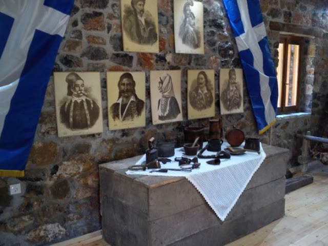 Τον Νικόλα Σταματελόπουλο θα τιμούν στη Νέα Κίο σε εκκλησάκι που έχτισε ο Νικηταράς