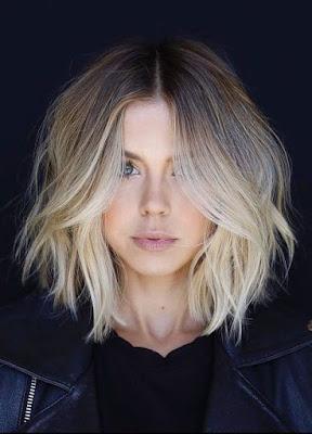Os cortes de cabelo curto estão em alta sem sombra de dúvida! O cabelo curto liso é moderninho e superprático de manter.