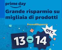 Amazon Prime Day  13 e 14 ottobre 2020 : grande risparmio su migliaia di prodotti