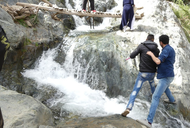 Wanderung zum Wasserfall, Setti-Fatma, Ourika-Tal, Marokko