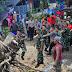 Turun Langsung Lapangan, Dandim 0808/Blitar Pimpin Pembersihan Pohon Tumbang