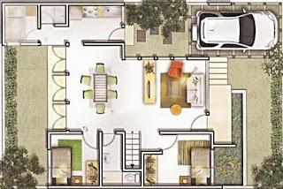 Gambar%2BDenah-Rumah-Minimalis-Modern-405x271