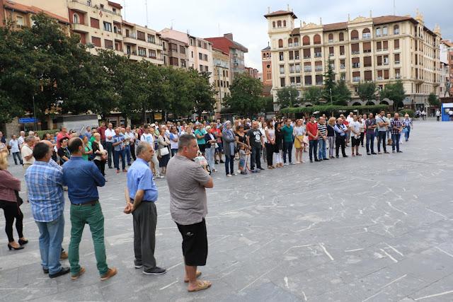 Concentración de repulsa por los atentados en Barcelona