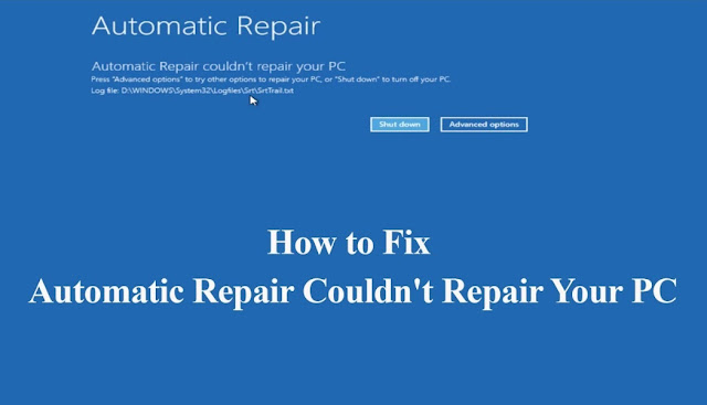Why Windows 10 Automatic Repair Couldn't Repair PC