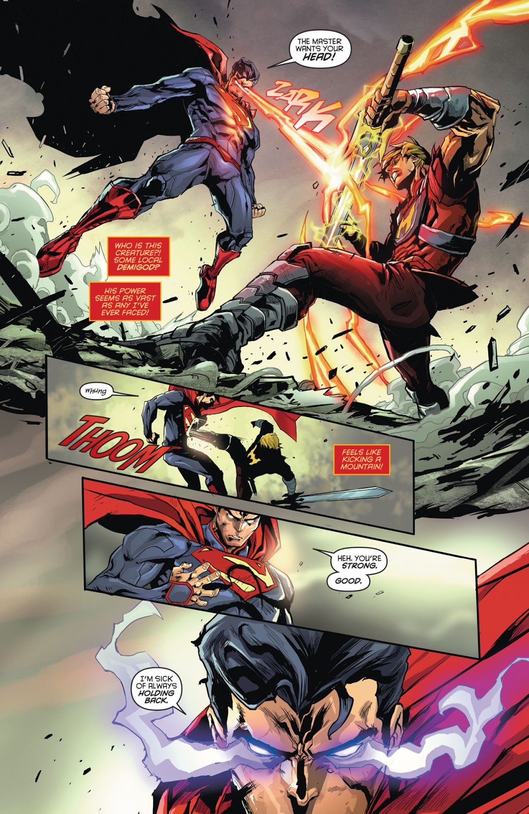 """Hero Envy"" The Blog Adventures: SUPERMAN VS HE-MAN"