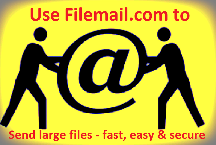 How to send Large Files Filemail.com is the solution