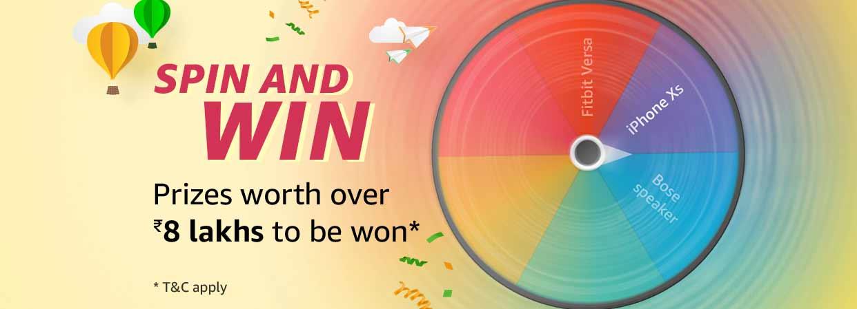 Amazon Spin & Win Quiz Answer 2020