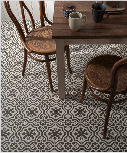 Merola Tile Berkeley Charcoal