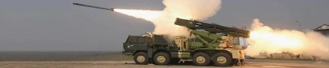 DRDO Test-Fires Two Enhanced Range Rockets