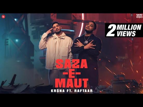 KR$NA Ft. RAFTAAR - Saza-E-Maut Song Lyrics | (Indian Drill) Lyrics Planet