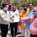 सुइथाकला के शिक्षकों ने जिला प्रशासन को सौंपा 105 कुन्तल खाद्यान्न
