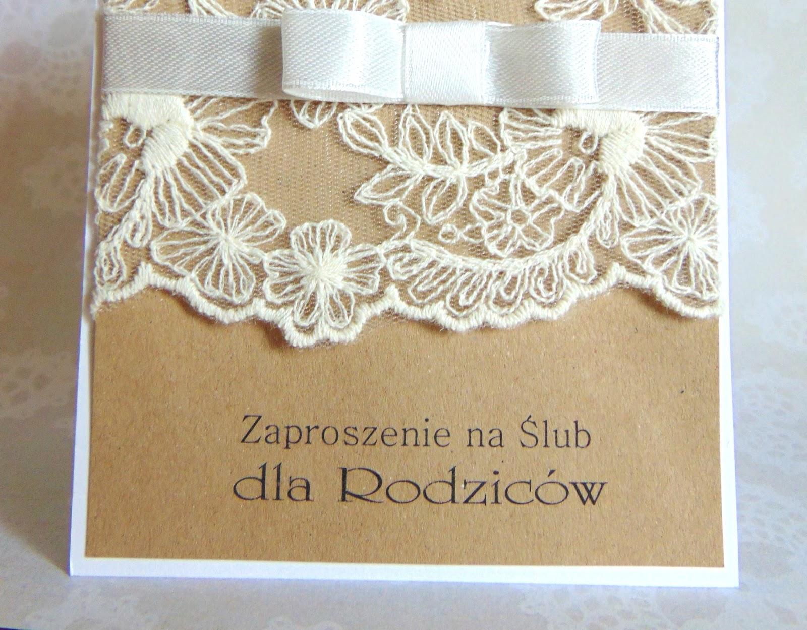 Little Joy Handmade By Sylwia Rustykalne Zaproszenia ślubne
