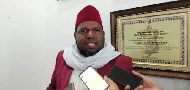 MUI Papua Tolak Seruan Jihad Ke Papua yang Beredar di Media Sosial
