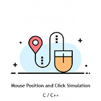 Finding X and Y of Mouse in Cpp Program