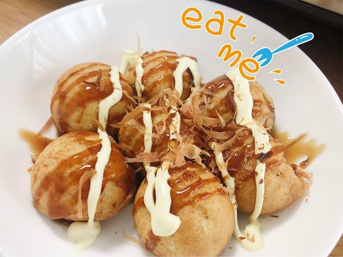 สูตรทาโกะยากิง่ายๆ ทำกินเองได้ที่บ้าน (タコ焼きレシピ)