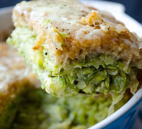 SKINNY ZUCCHINI CASSEROLE RECIPE #lowcarb #healthy